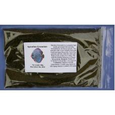 Sinking discus granules with spirulina 100g.