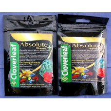 This deal is for 2 x packs of Absolute Aquarium Wormer + 50g Value pack plus flukes treats 5,000 UK gallons (22,700L).