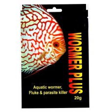 2,000 UK gallon pack of Kusuri wormer plus, aquatic fluke, wormer and parasite killer.