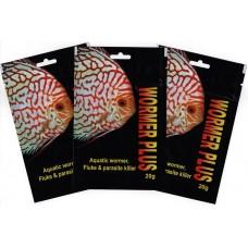 3 X 2,000 GALLON Pack Kusuri Wormer Plus, Aquatic Wormer, Fluke and Parasite Killer