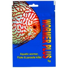 Kusuri Wormer plus, aquatic fish wormer, fluke and parasite killer 5g.