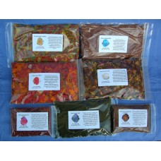 NEW LARGER PACK SIZES!! Discus Delights, Discus Fish Food Hamper No Frill's Breeder Pack 7 x 100g Foods.