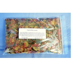 NEW!! Tropical Medley discus fish flake food 100 grams.