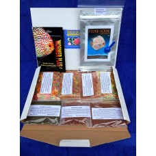 Discus Delights no frill's pizza box style Food Hamper, 1 x 20g pack of wormer plus and a Pack Of 10g Fluke Solve.