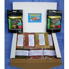 Discus delights no frill's pizza box style hamper pack, PLUS 2 x 5,000 gallon Cloverleaf Absolute wormer +.