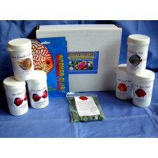 Discus Delights Gourmet Food Hamper, and 500 Gal  pack Wormer Plus. Bundle deal offer!
