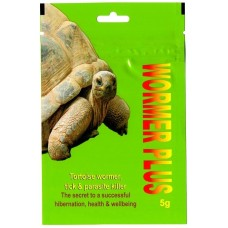2 x Tortoise wormer plus 5g.